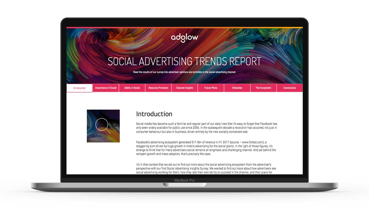 Social advertising trends report