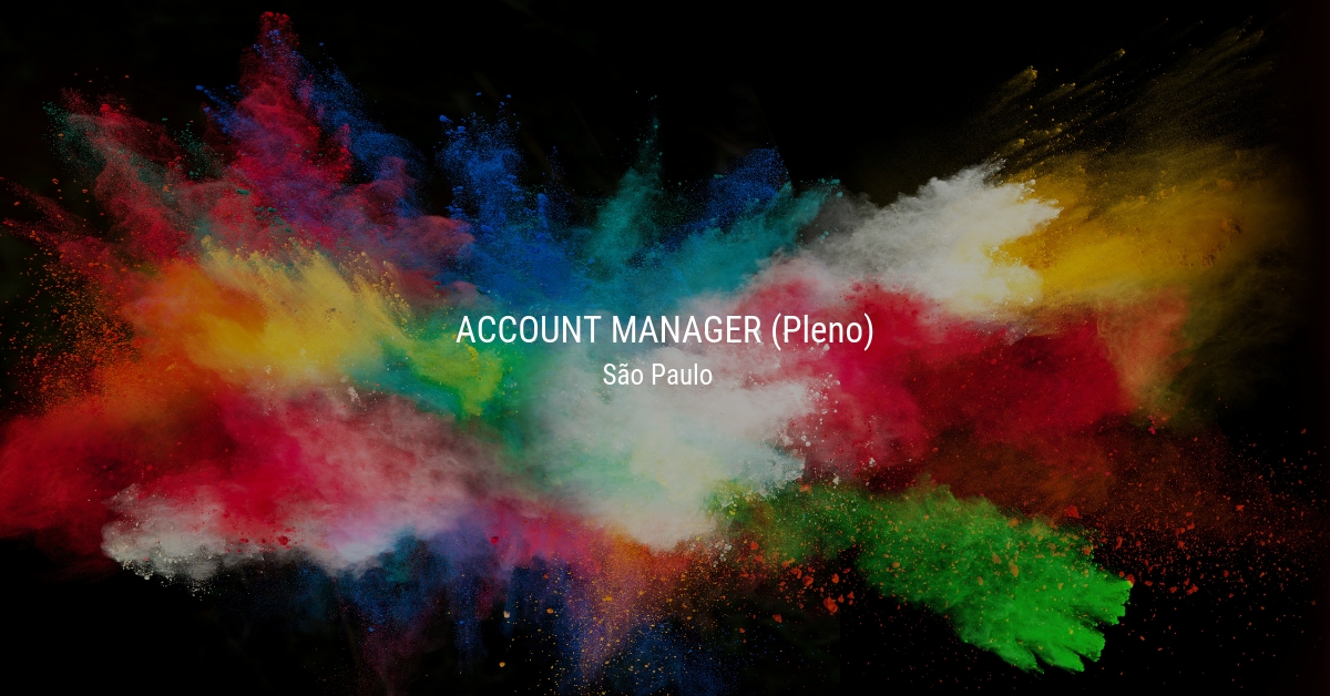 Account Manager (Pleno)